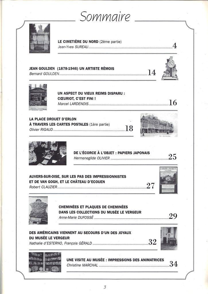 Regards sur notre Patrimoine - Bulletin de la Société des Amis du Vieux Reims Scan0013