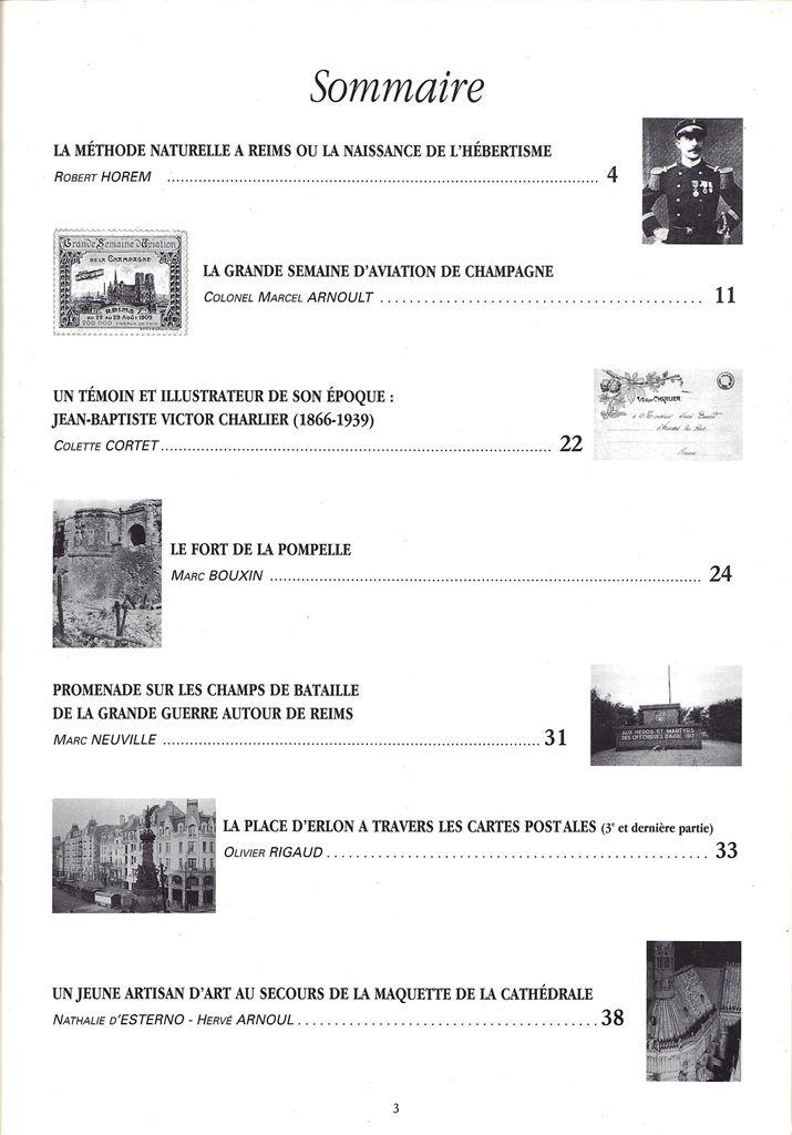 Regards sur notre Patrimoine - Bulletin de la Société des Amis du Vieux Reims Scan0015