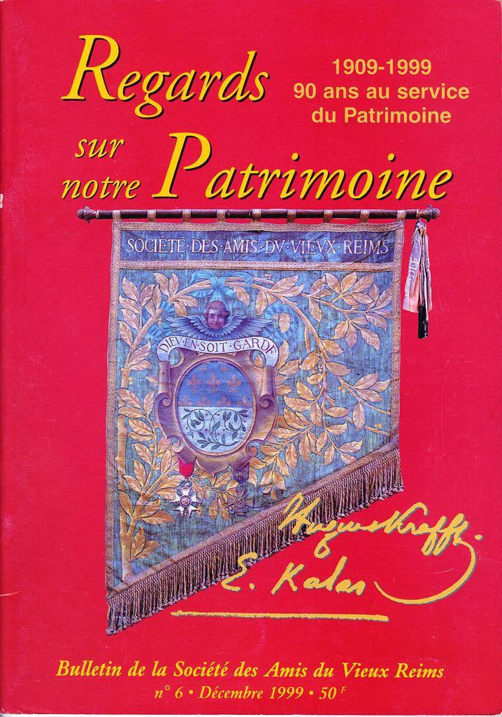 Regards sur notre Patrimoine - Bulletin de la Société des Amis du Vieux Reims Scan0016