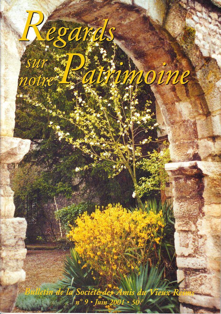Regards sur notre Patrimoine - Bulletin de la Société des Amis du Vieux Reims Scan0020