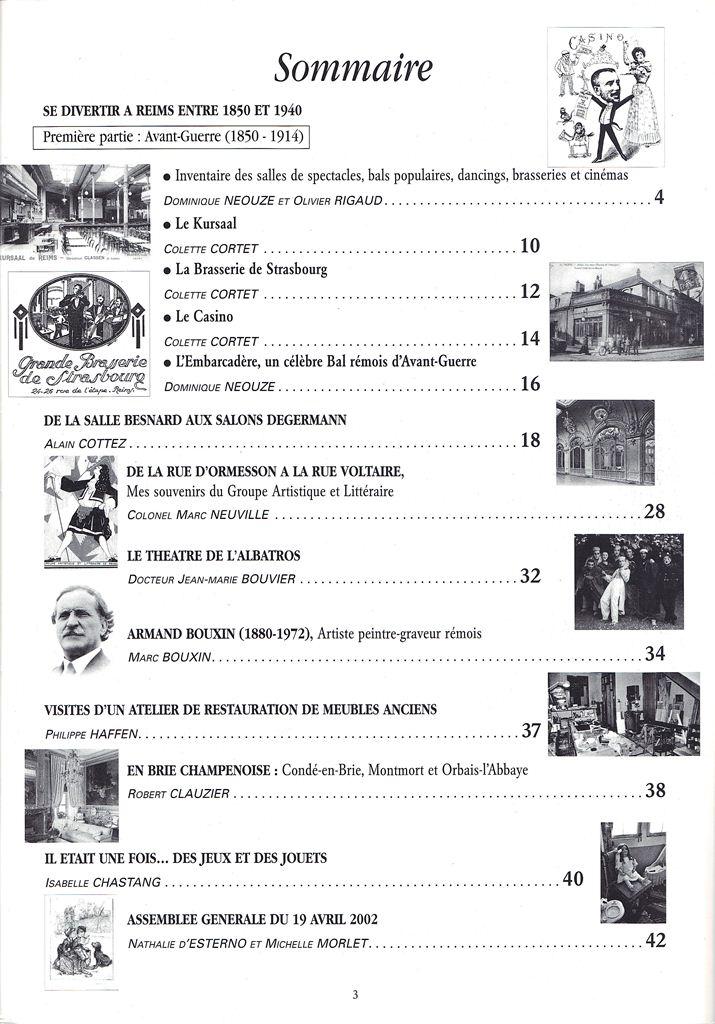 Regards sur notre Patrimoine - Bulletin de la Société des Amis du Vieux Reims Scan0025