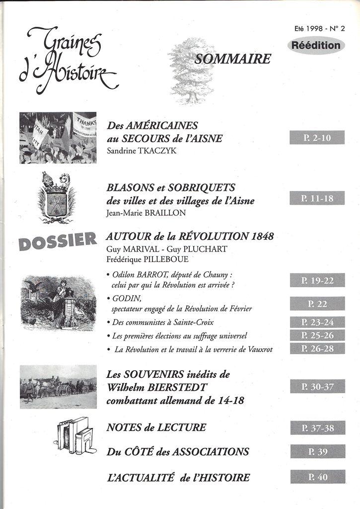 Graines d'Histoire - La Mémoire de l'Aisne Scan0039