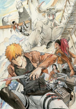 Images Cross-Over &... Bleach10