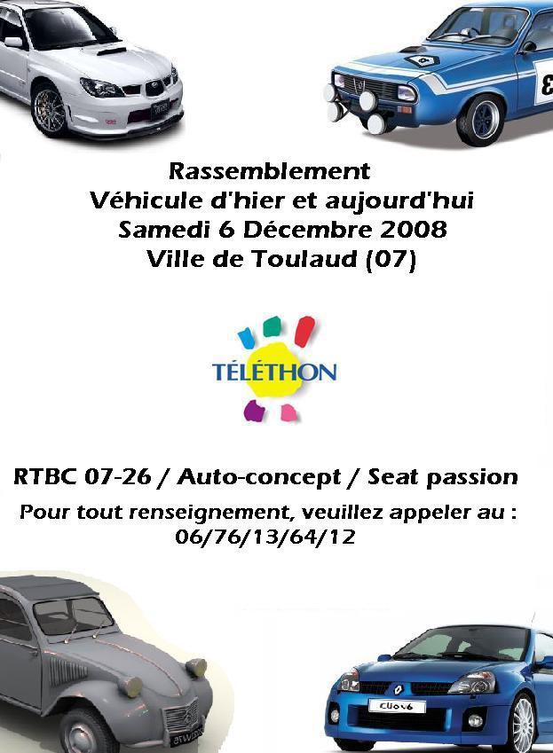 Téléthon le 6/12/2008 Sauvet10