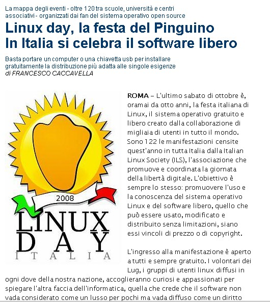 Linux Day....... Linux10