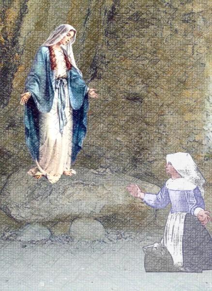 Notre Dame du Laus : la Belle Dame du Vallon des Fours (I) Notre_15