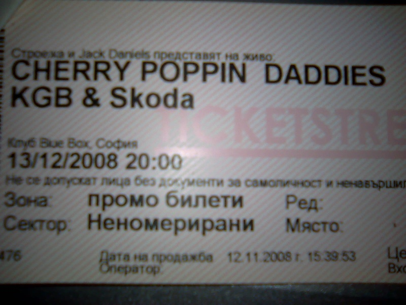 CHERRY POPPIN' DADDIES, KGB,SKODA Ddddnd11