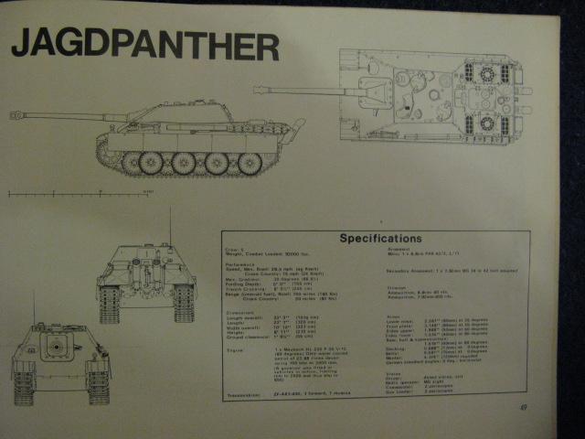 Recherche de documents et plan 3 vues minimun du jagdpanther St_jac18