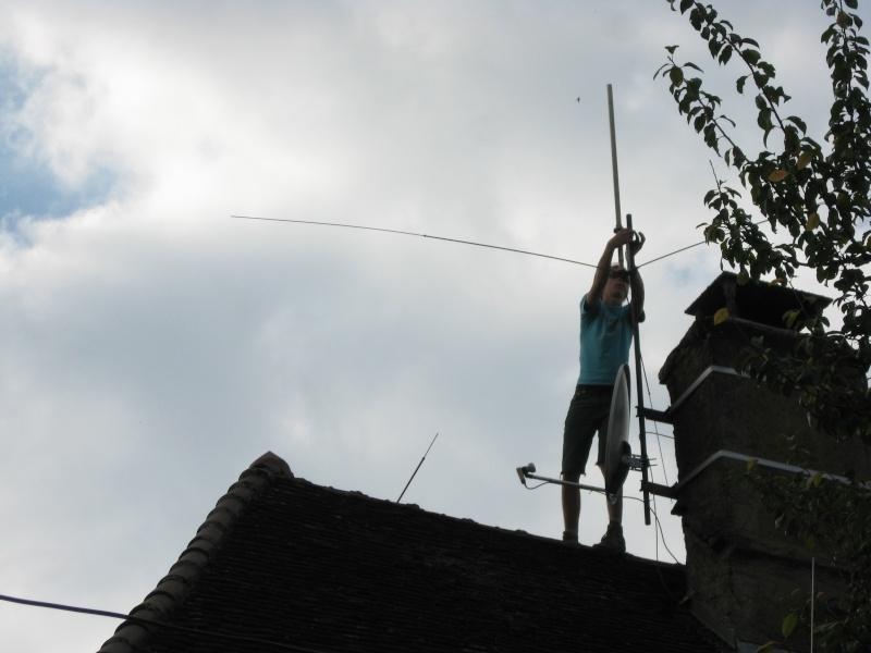 Installation de l'antenne @ Thomas Antenn15