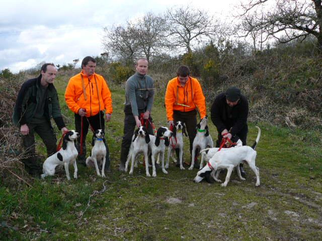 Brevet de chasse sur chevreuil à Bourbriac (22) 9 et 10 mars Germon10