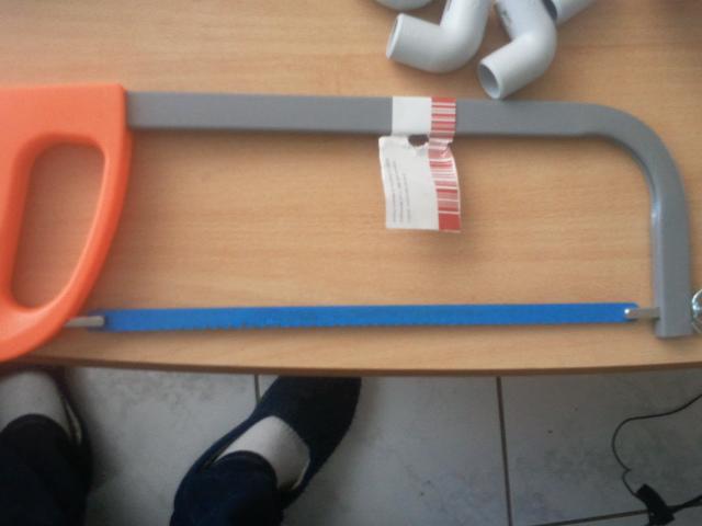 fabrication d'une canne d'aspiration avec crépine et canne de rejet 2013-015