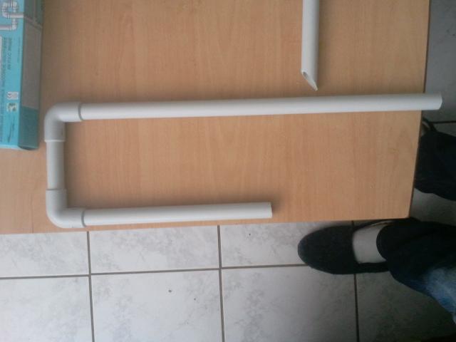 fabrication d'une canne d'aspiration avec crépine et canne de rejet 2013-016