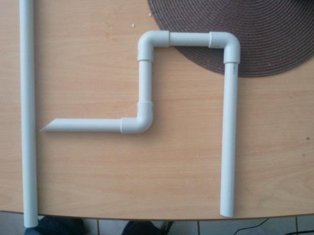 fabrication d'une canne d'aspiration avec crépine et canne de rejet 2013-018