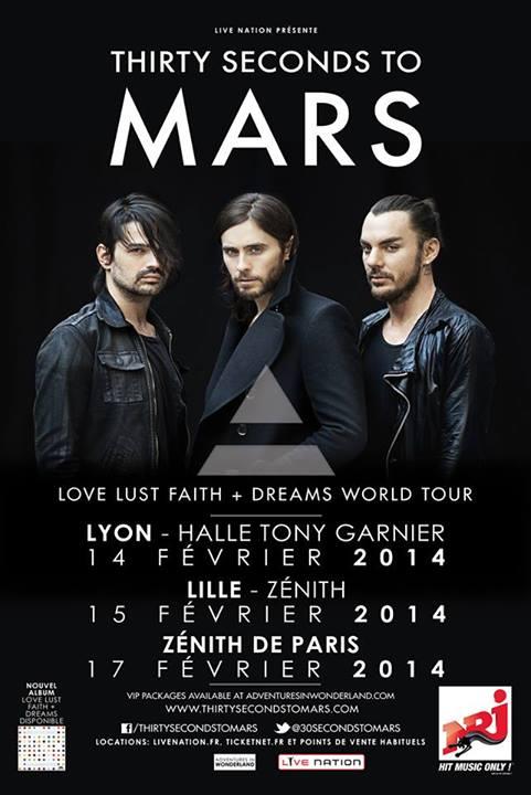 Love Lust Faith + Dreams Tour 2013 / 2014 / 2015 12351810