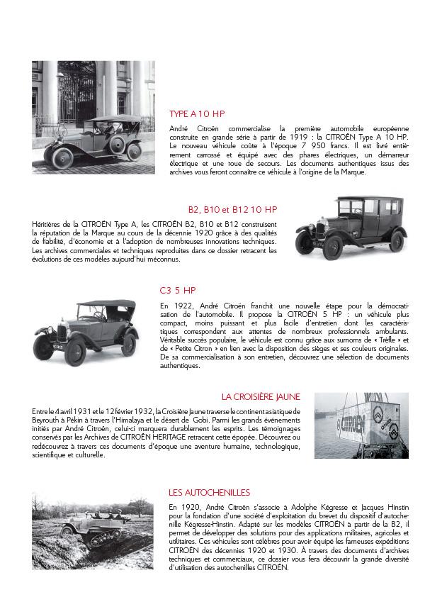 [INFORMATION] Citroën Héritage: Venez passer commande Catalo12