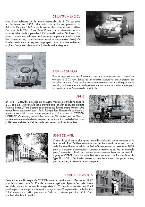 [INFORMATION] Citroën Héritage: Venez passer commande Catalo14