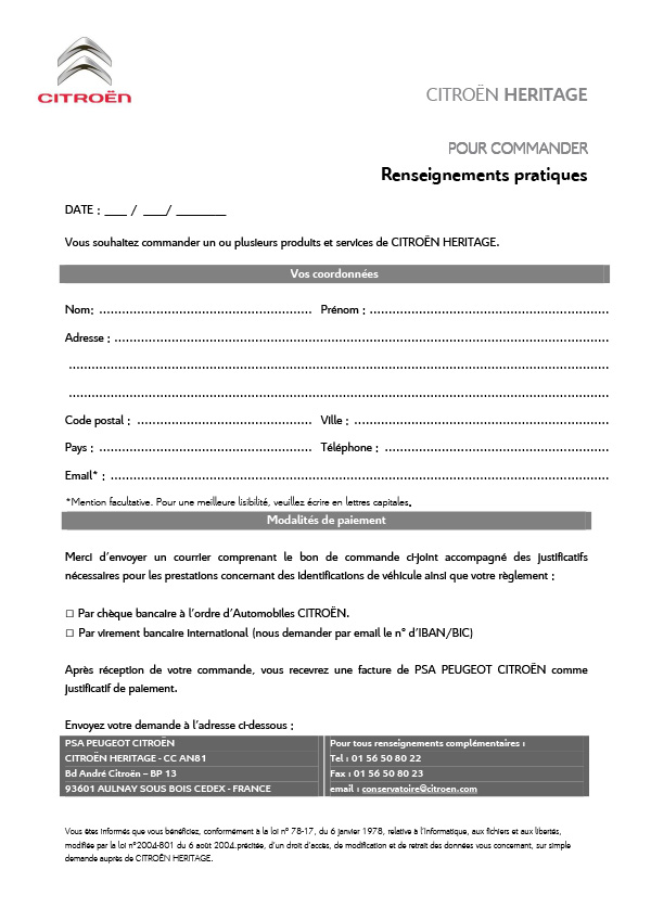 [INFORMATION] Citroën Héritage: Venez passer commande Catalo15