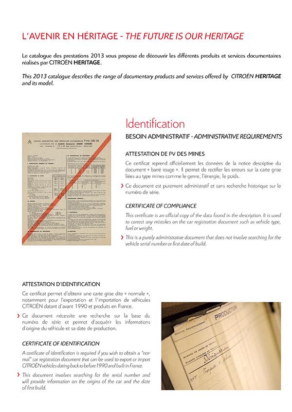 [INFORMATION] Citroën Héritage: Venez passer commande Catalo18