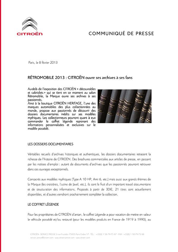 [INFORMATION] Citroën Héritage: Venez passer commande Reto110