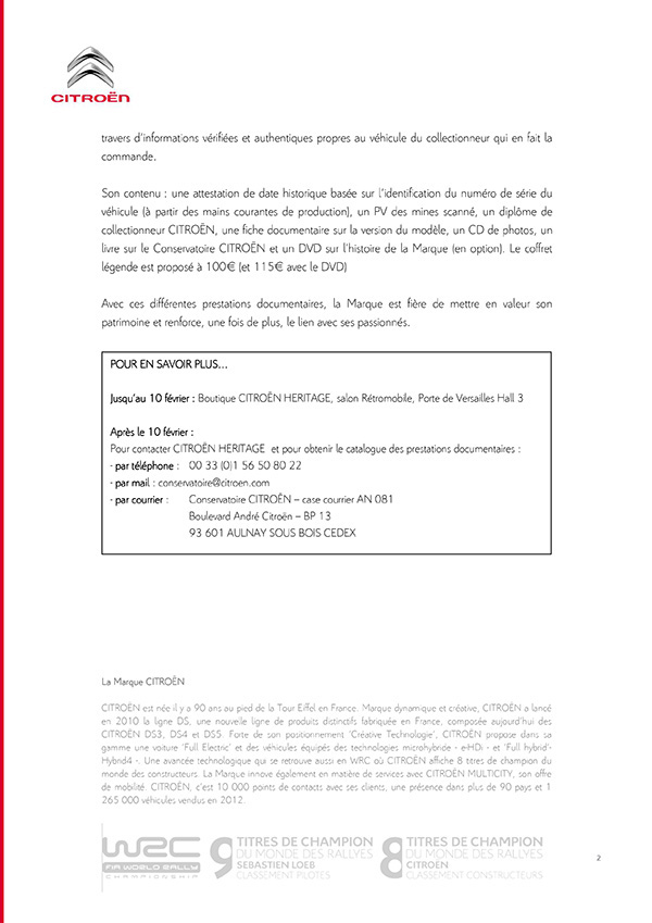 [INFORMATION] Citroën Héritage: Venez passer commande Reto211