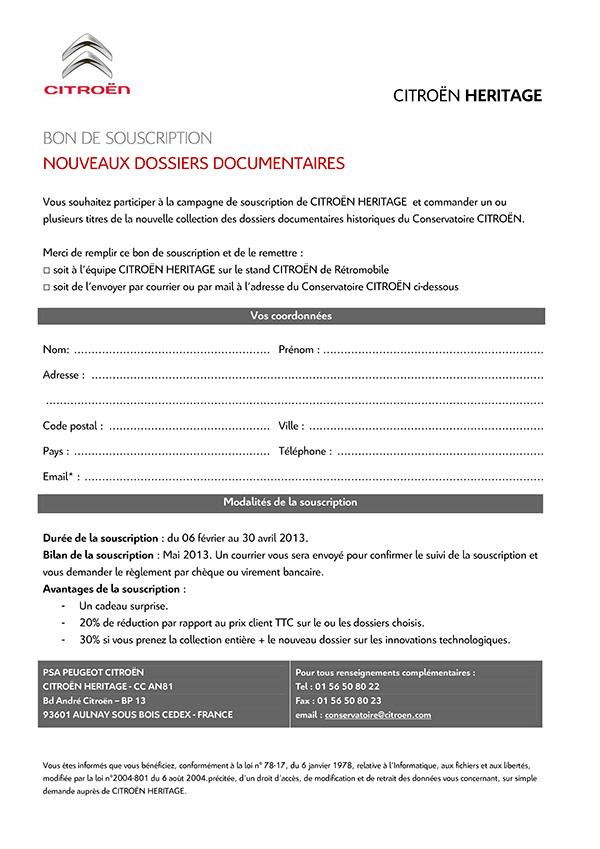 [INFORMATION] Citroën Héritage: Venez passer commande Souscr14