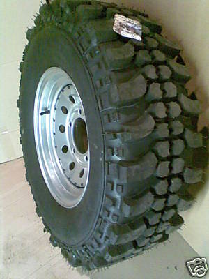 steel wheel with offroad tyre 92aa_110