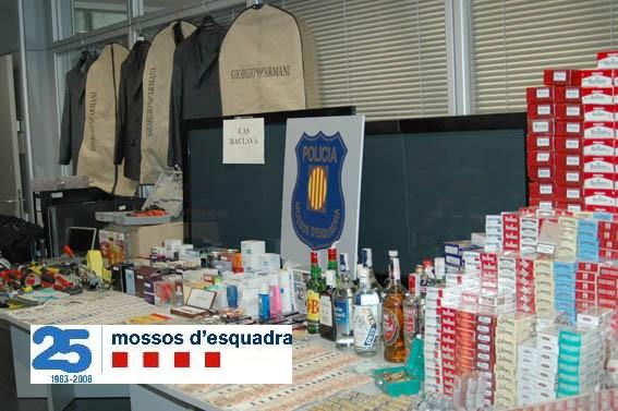 Desarticulada una banda a qui s'imputa prop de 40 robatoris des del Pirineu fins al Penedès Baclav12
