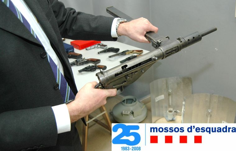 2 detinguts més per fabricació, tinença i contraban d'armes i municions en el marc de l'operació Torn Np205712