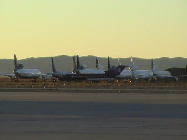 Photos cimetierre des avions, desert du Mojave, USA. Photo_17