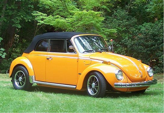 The car that started it all for me  my 73 superbeetle vert AKA ORANGEPEEL 10356212