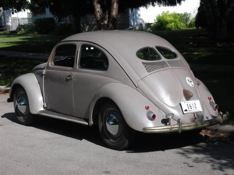 Paint color fro the sploval  L36 Azure Blue  1950-1954 VW color 38905010