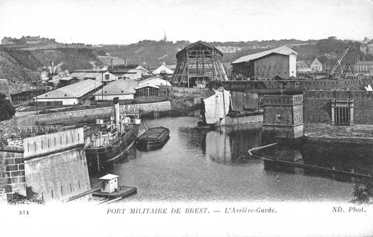 NEW - Brest et ses remparts Arrier10