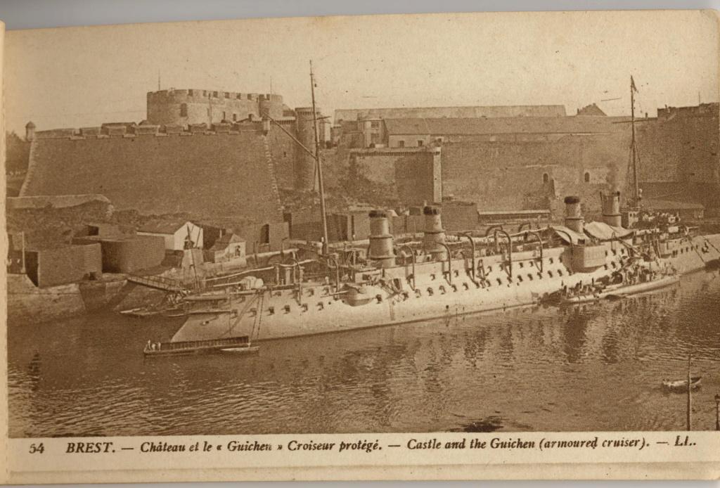 NEW - Brest et ses remparts Chatea10