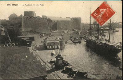NEW - Brest et ses remparts Cpa_br10
