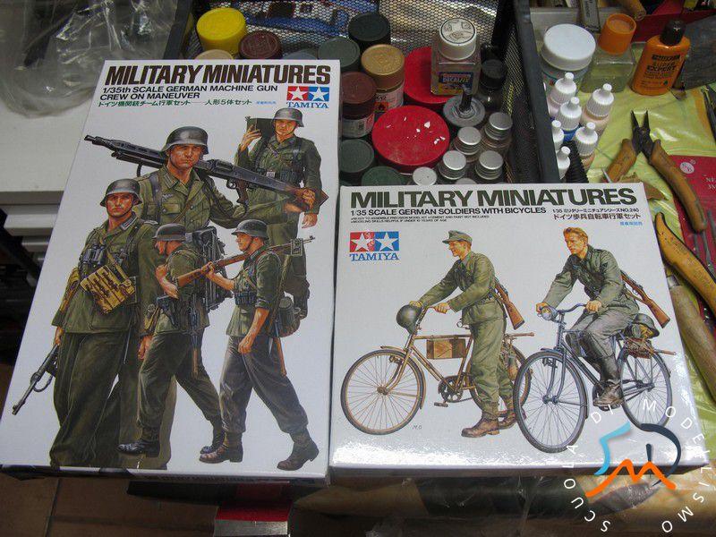 Recensione Kit German soldier whit bicycles e German machine gun crew on maneuver Img_3610