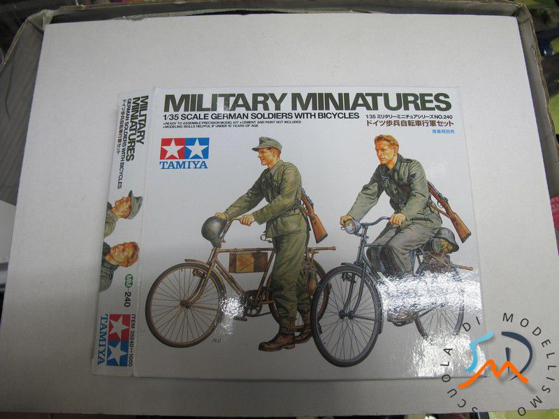 Recensione Kit German soldier whit bicycles e German machine gun crew on maneuver Img_3710