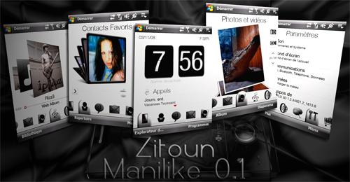 "manilike - [THEME : udpate 25.11.08] Zitoun ManiLike : 2 thèmes + Version ""GIRLY"". Prasen10"
