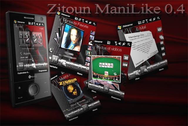 manilike - [THEME] : Nouvelle version Zitoun ManiLike 0.4 Prasen34