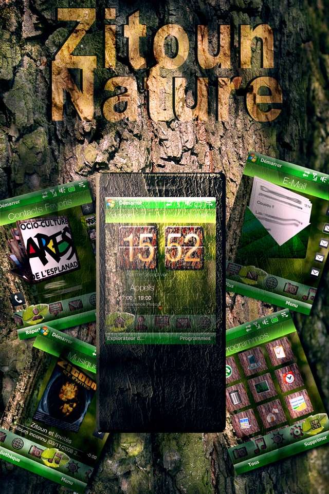 [THEME]: Zitoun'Nature -Nouvelle Edition All Tab- Prasen41