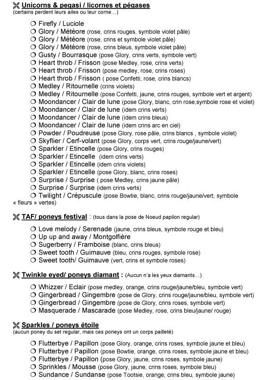 Les check-lists autres pays Argent11