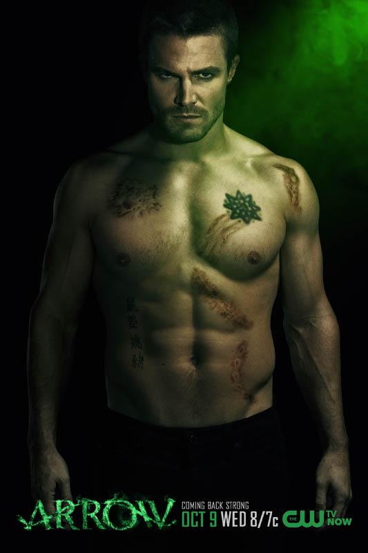"Arrow  "" l' Archer vert "" Arrow-11"