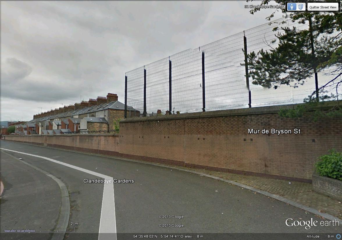 """[Royaume-Uni] - Les barrières de séparation de Belfast (""""Murs de la paix..."""") Brison10"""