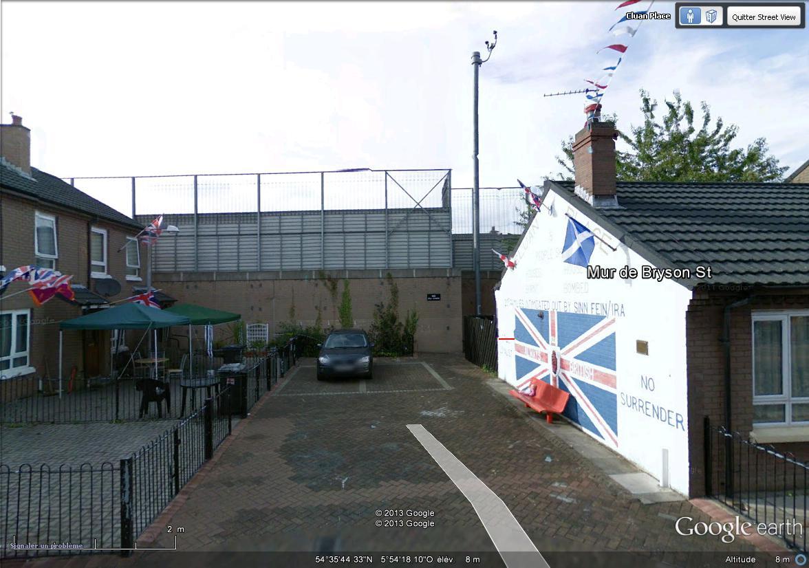 """[Royaume-Uni] - Les barrières de séparation de Belfast (""""Murs de la paix..."""") Brison11"""