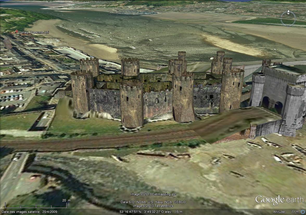 [Royaume-Uni] - Le Château de Conwy, Pays de Galles Chatea14