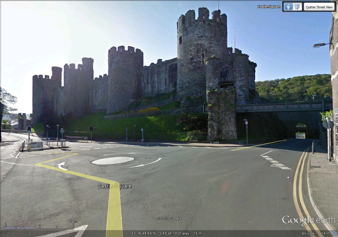 [Royaume-Uni] - Le Château de Conwy, Pays de Galles Chatea15