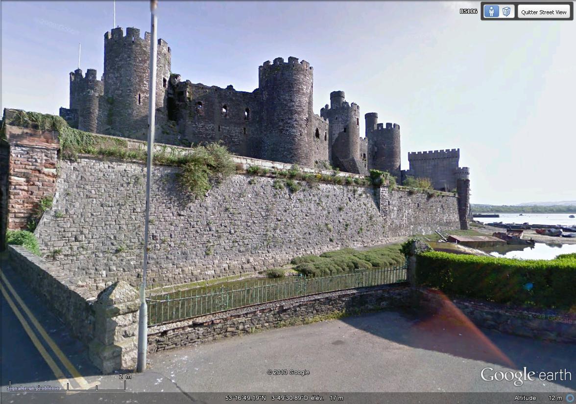 [Royaume-Uni] - Le Château de Conwy, Pays de Galles Chatea16