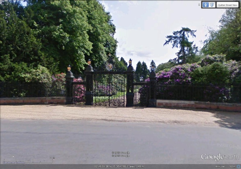 [Royaume-Uni] - Sandringham House, résidence de la famille royale britannique Entrae12