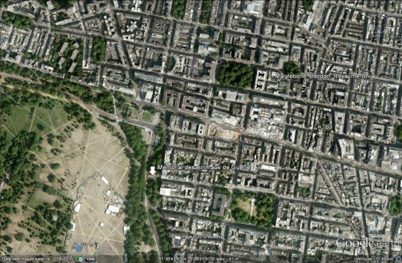 [Royaume-Uni] - Mémorial des animaux de guerre Marylebone-Londres Mamori14