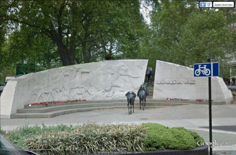 [Royaume-Uni] - Mémorial des animaux de guerre Marylebone-Londres Mamori15