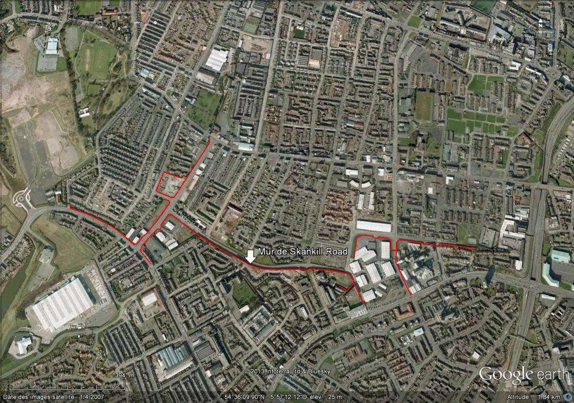 """[Royaume-Uni] - Les barrières de séparation de Belfast (""""Murs de la paix..."""") Mur_de12"""